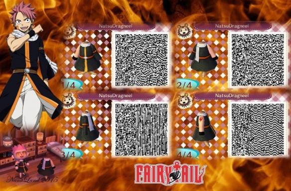 《集合啦动物森友会》精的尾巴QR码图一览