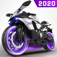 冲刺摩托车