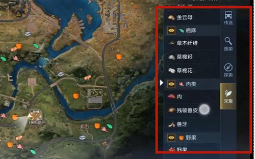 《黎明觉醒》红木林地地图详细介绍