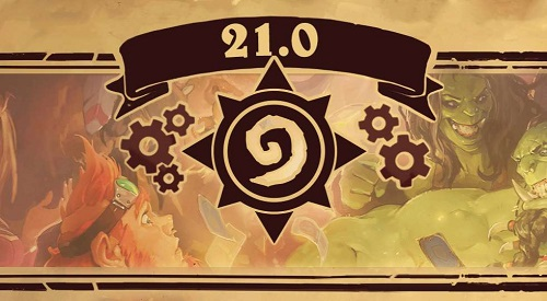 炉石传说21.0补丁更新对决模式