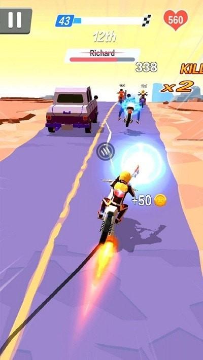 暴力摩托飞车